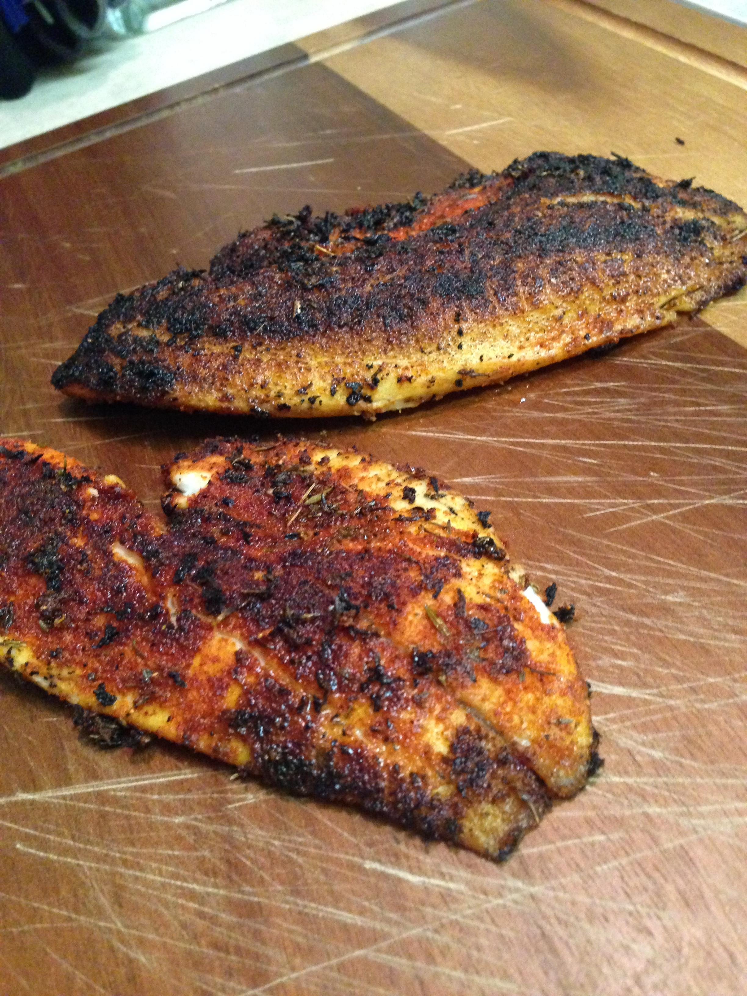 Blackening seasoning fish food is love made edible for Blackening spice for fish